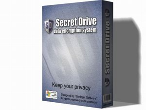 SecretDrive - data encryption system